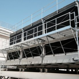 Crossflow Cooling Tower Refurbishment